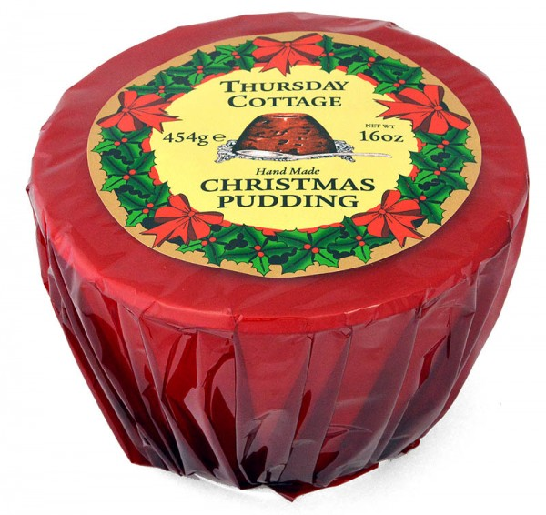 Thursday Cottage Wrapped Christmas Pudding 454g