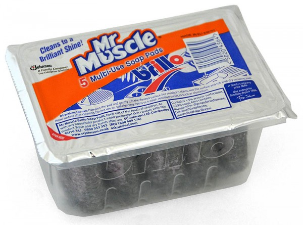 Mr. Muscle Brillo 5 Multi-Use Soap Pads