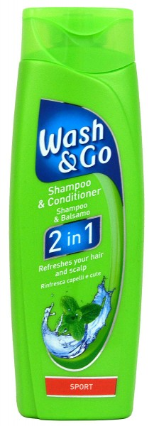 Wash & Go 2in1 Sport Shampoo & Conditioner
