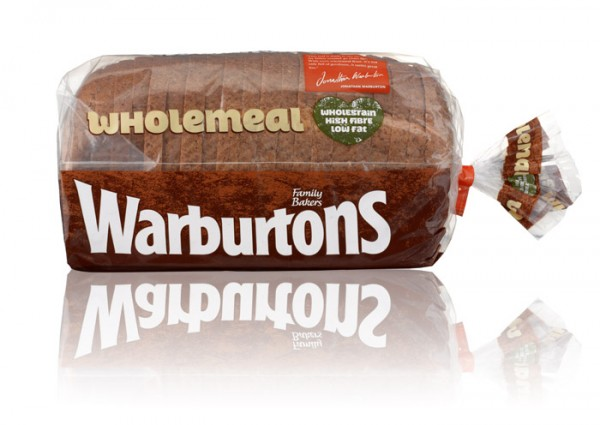 Warburtons Wholemeal Bread 800g