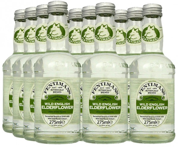 Fentimans Wild English Elderflower 12 x 275ml Tray
