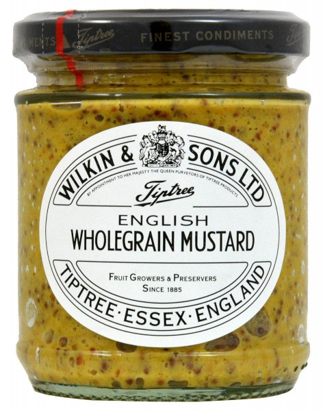 Wilkin & Sons English Wholegrain Mustard 185g - Vollkorn-Senf