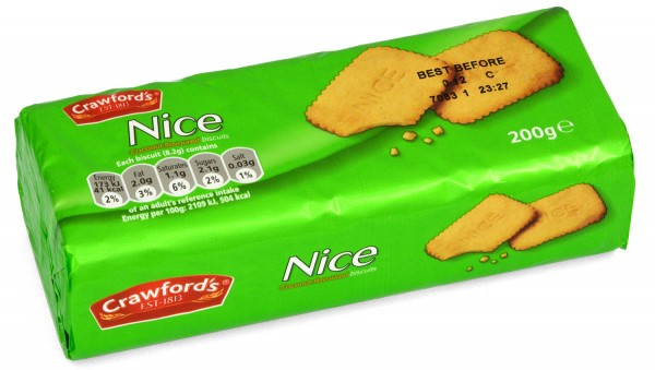 Crawfords Nice Biscuits 200g