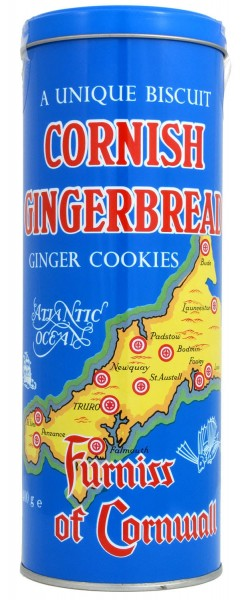 Furniss Cornish Gingerbread Tin 400g
