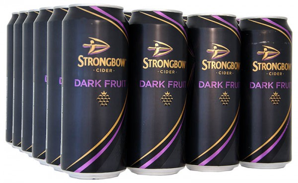Strongbow Cider Dark Fruit 24 x 440ml