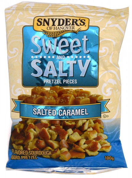 Snyders Sweet and Salty Caramel Pretzel Pieces 100g