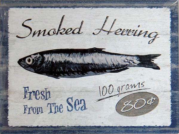 Magnet ´Smoked Herring Fresh From The Sea´