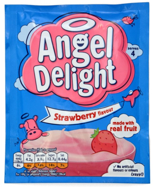 Angel Delight Strawberry - Erdbeere