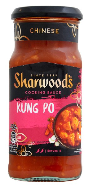 Sharwoods Chinese Kung Po Cooking Sauce 425g
