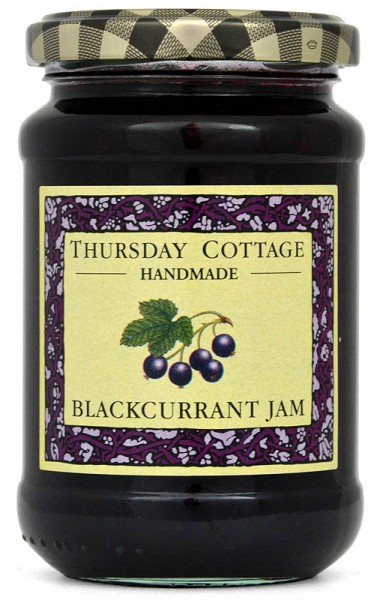 Thursday Cottage Blackcurrant Jam 340g - Schwarze Johannisbeere