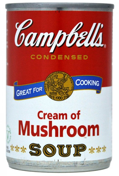 Campbells Cream of Mushroom Condensed Soup