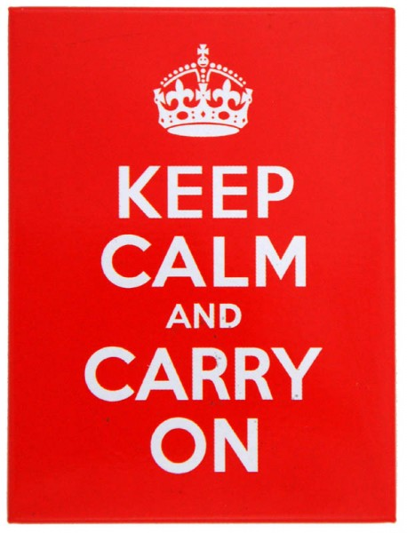 Magnet ´Keep Calm and Carry On´