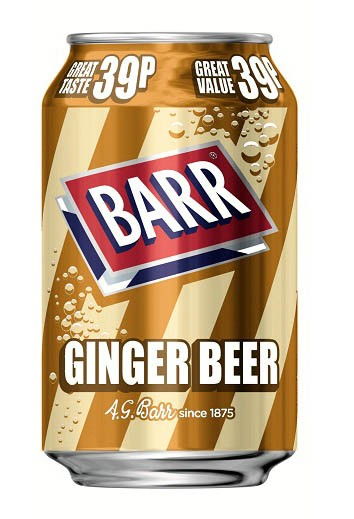 Barr Ginger Beer 330ml Dose