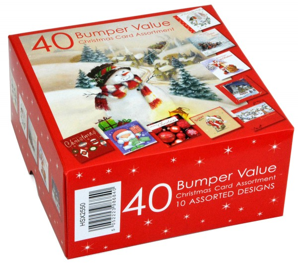 40 Value Christmas Cards