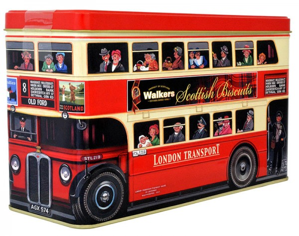 Walkers London Bus Biscuits Selection 450g