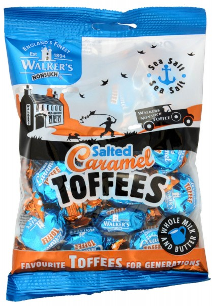 Walkers Nonsuch Salted Caramel Toffees 150g