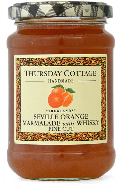 Thursday Cottage Seville Orange Marmalade with Whisky 340g