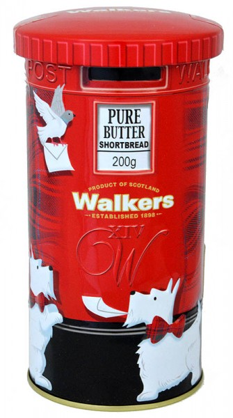 Walkers Shortbread Postbox 200g