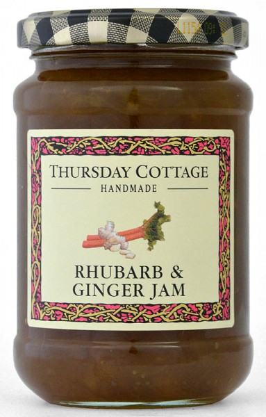 Thursday Cottage Rhubarb & Ginger Jam 340g