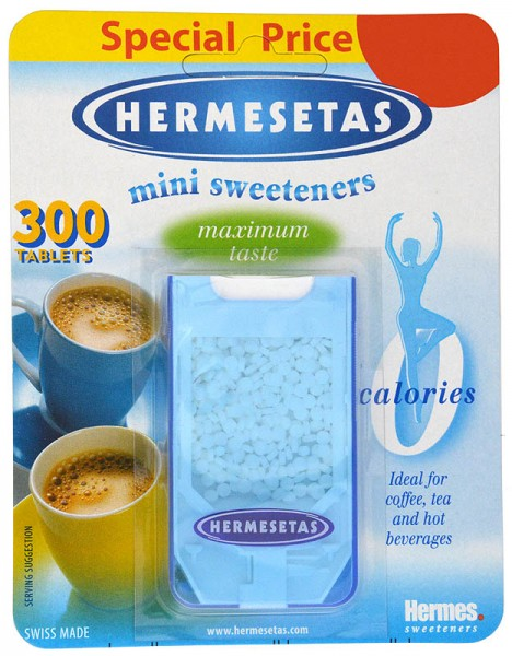 Hermesetas Mini Sweeteners 300 Tablets