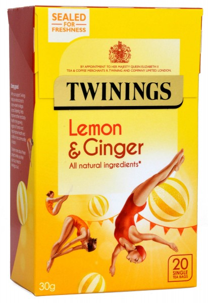 Twinings Lemon & Ginger Flavour Tee 20 Beutel