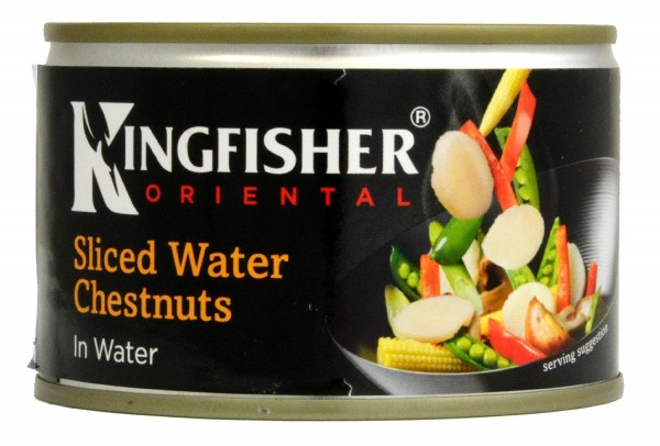 Kingfisher Sliced Water Chestnuts in Water 225g