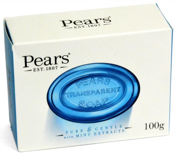 Pears Transparent Soap with Mint Extracts 100g