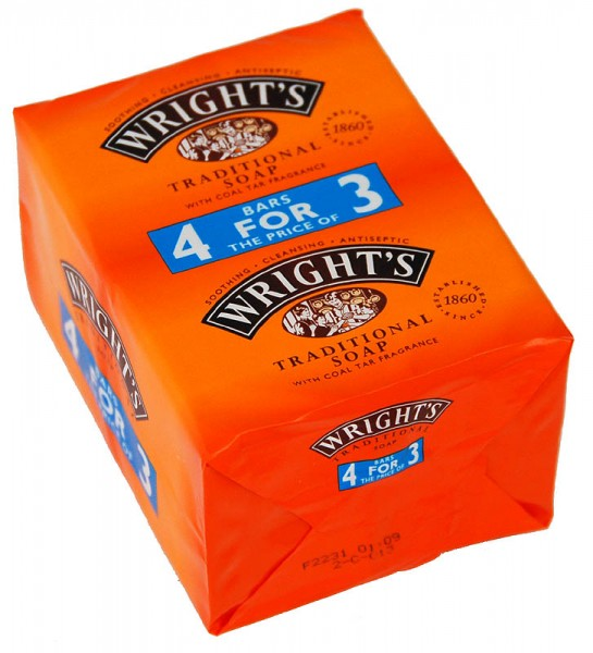 Wright`s Coal Tar Soap 4-pack
