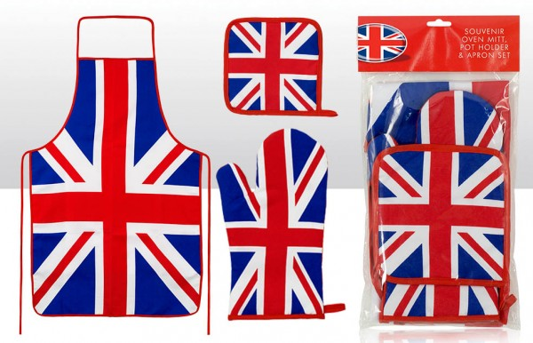 Backofen-Set Union Jack