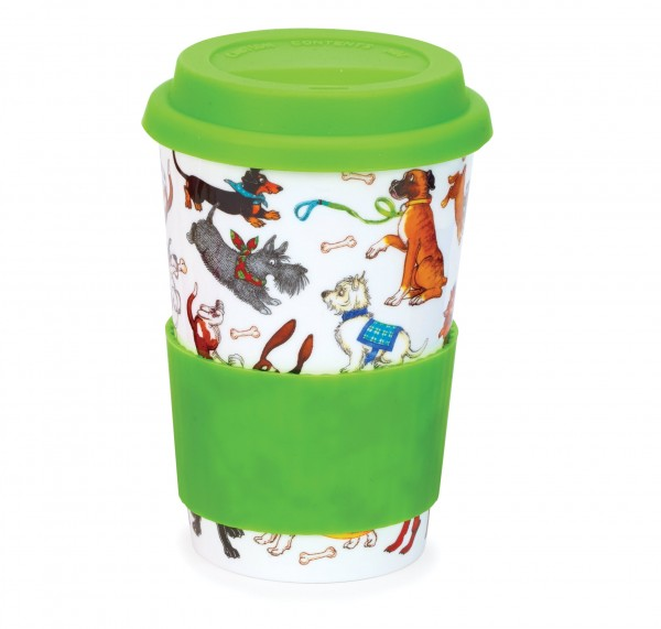 Dunoon Travel Mug Dogs Galore by Cherry Denman