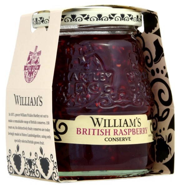 Williams British Raspberry Conserve 340g