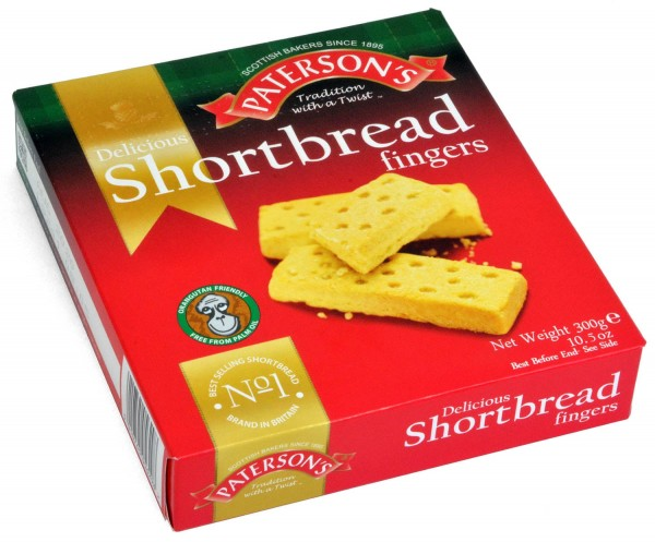Patersons Shortbread Fingers 300g